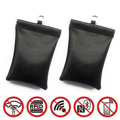 Car Key Signal Blocker Bag Faraday Cage Fob Pouch Keyless RFID Blocking Bag UK