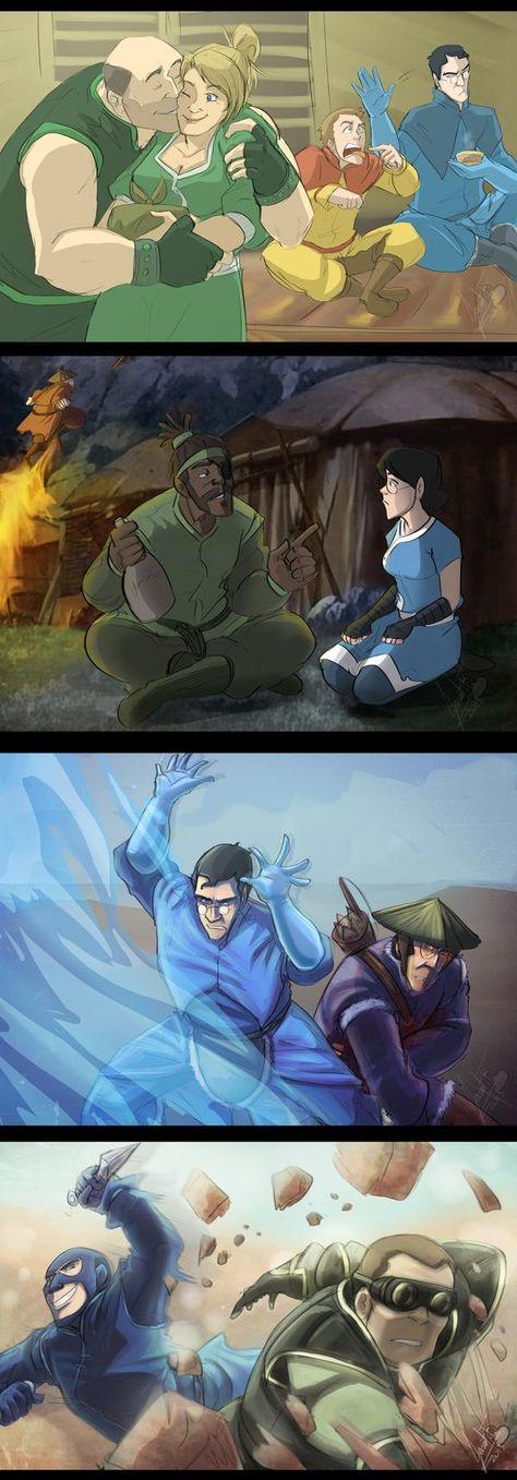 TLAB screenshots 4 by on DeviantArt - Hannah Avatar Aang, Avatar The Last Airbender, Tf2 Memes, Team Fortess 2, Avatar Movie, Cartoon Fan, Red Vs Blue, Team Avatar, Old Hollywood Movies
