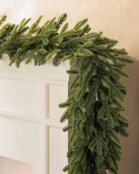 10ft Unlit Garland Artificial Christmas Wreaths Artificial Christmas Garland Fraser Fir