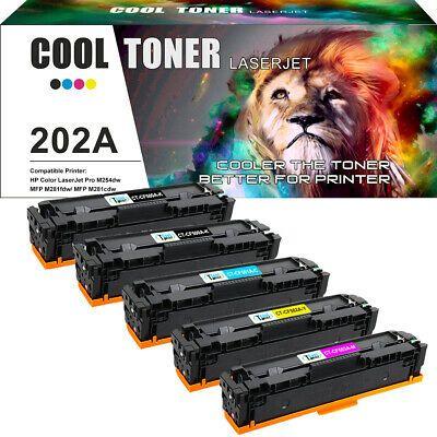 Ebay Link Ad 5 Pack For Hp Cf500a 202a Toner Color Laserjet Pro Mfp M254dw M281cdw M281fdw In 2020 Printer