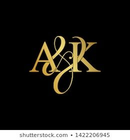 Similar Images, Stock Photos & Vectors of A and K / AK logo initial vector. - 1422206945   Shutterstock