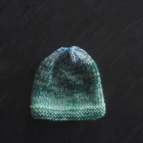 Bonnet prématuré naissance extensible passion tricot   Mode bébé ... 48ee7d18494