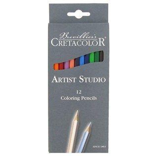 Savoir Faire Cretacolor Artist Studio Colored Pencils Set Shop