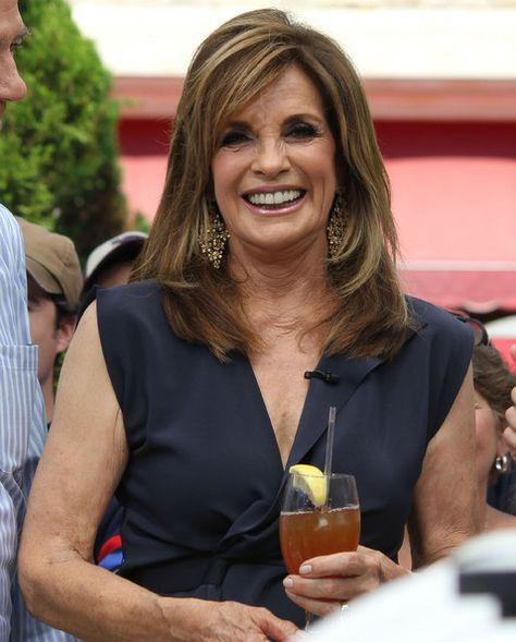 "Linda Gray Photos: Celebs at The Grove for ""Extra"""