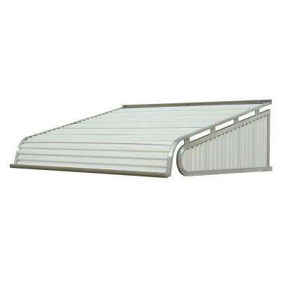 4 Ft 1500 Series Door Canopy Aluminum Awning 12 In H X 42 In D In White Aluminum Awnings Door Canopy Aluminium Doors