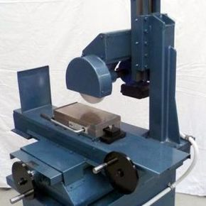 Surface Grinder by turntable -- Hi guys; here is my homemade surface grinder. made from Makita chop saw. works very well. in the pic w… | odds and ends .