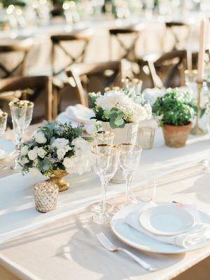 Decor Wedding Inspiration Style Me Pretty Wedding Table Centerpieces Brunch Wedding Wedding Decor Inspiration