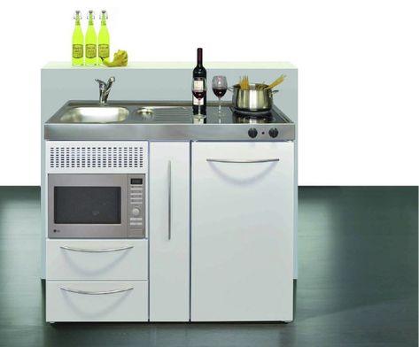 Mini cuisine idéale pour aménager un studio, un réel gain de place ...