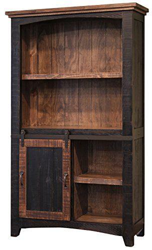 32++ Sliding barn door bookcase inspiration