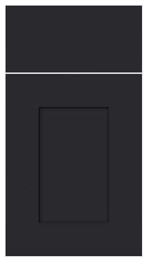 Custom Kitchen Cabinets In Black Thermo Laminated MDF With Shaker Style  Doors | Custom Kitchen Cabinets   Traditional | Pinterest | Shaker Style  Doors, ...