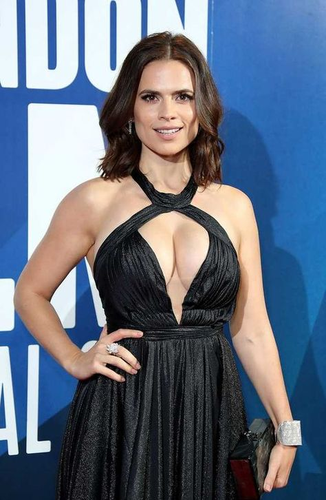 Hayley Atwell Milky Cleavage Collection Hot And Sexy Actress Pictures