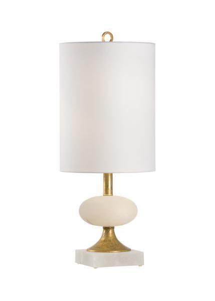 Chelsea House Charlotte Lamp 69422 Chelsea House Lamp White Alabaster