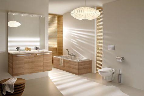 Lampes Et Luminaires Pour Eclairer La Salle De Bains Salle De Bain Salle De Bain Design Interieur Salle De Bain
