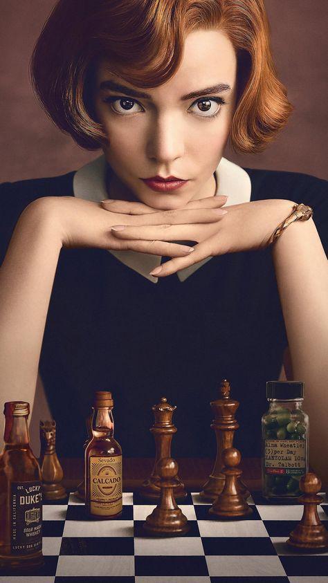 The Queen's Gambit Phone Wallpaper | Moviemania