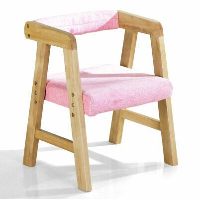 YOUHi Kids' Chairs, Children's Armchair Seat Study Chair Kids Solid Wooden  Chair