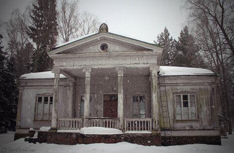 Abandoned house near Athens, Georgia