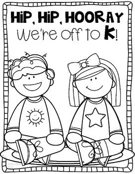 This Free Coloring Page Is Perfect For The Last Day Of Preschool
