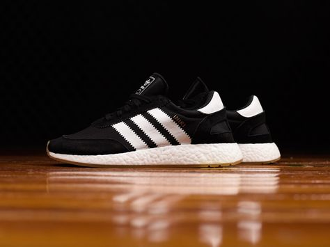 Adidas Iniki Boost Runner Black White BY9727