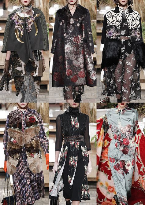 The Patternbank Team have analysed the collections showing on the Milan catwalksto bring you Part 1 of the print and pattern highlights from the Italians