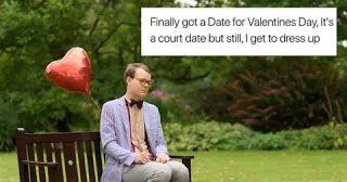 Slightly Off The Mark On Valentine S Day Be Meme Court Dates Memes Humor