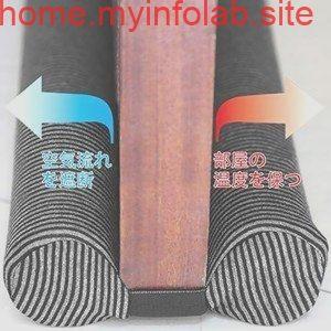 ドア 下部テープ 隙間風防止 防音 防虫 防埃 冷暖房効果アップ グレー ブラック Tie Clip Tie