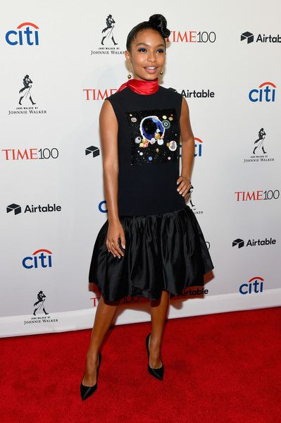 Actor Yara Shahidi attends the 2018 Time 100 Gala.