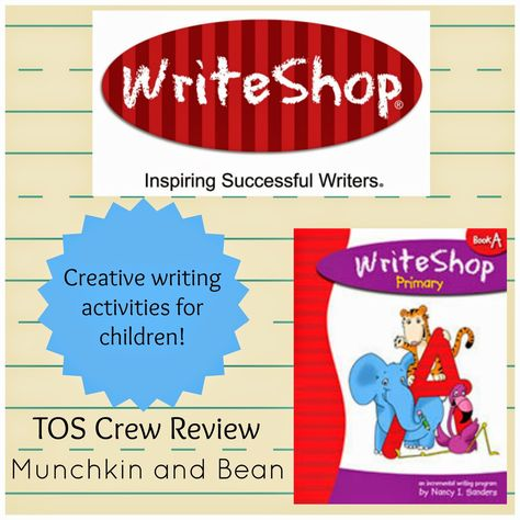 """""""We really love that this writing curriculum does not force the child to learn faster than their comprehension can keep up."""" {WriteShop Primary Book A review}"""