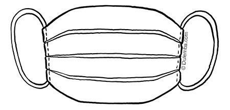Face Mask Drawing 8211 Lip Coloring 2020 Egitim Okul Oncesi Ogretmen Klasoru
