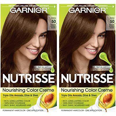 الوان صبغة غارنييه بزيت الزيتون موسوعة طيوف Hair Color Cream Brown Hair Dye Nourishing Hair