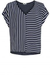 Gestreepte blouse shirt | Anna