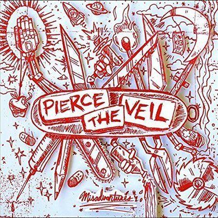 Misadventures Walmart Com In 2021 Pierce The Veil Album Cover Art Pierce The Veil Misadventures