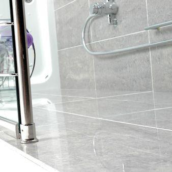 Eagle Light Grey Polished 600x300mm Polished Porcelain Wall Floor Tile By Gemini Light Grey Grey Tiles Tile Floor