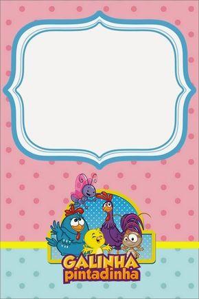 Kit Personalizados Tema Galinha Pintadinha Em Rosa E Azul