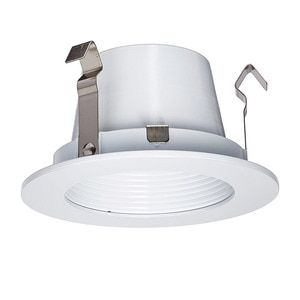 3in Ledme Round Step Baffle Trim Hr Led321 Wt Wt Hr Led321 Recessed Lighting Lighting Led Recessed Lighting