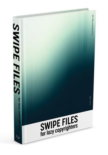 Swipe Files for Lazy Copywriters -Ebook | FreelanceWriting