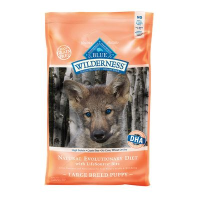 Wilderness Puppy Breed Chicken Brown Rice 30 Lb Chicken For Dogs Blue Buffalo Dry Dog Food
