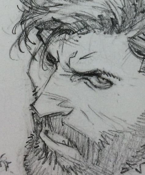 Sketch of an unknown Batcover by Greg Capullo (that's a scruffy Bruce, by the… Face Sketch, Drawing Sketches, Drawings, Sketching, Poses References, Greg Capullo, Drawing Practice, Drawing Techniques, Comic Artist