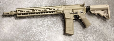 THOR TR-15 in FDE Cerakote - THOR Custom Shop #guns #tactical #shooting