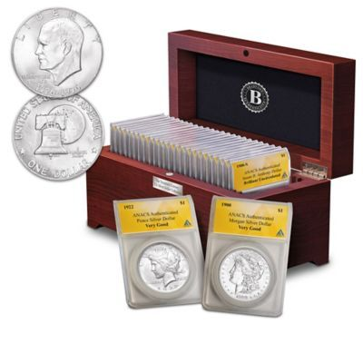 complete 20th century us silver dollar coin collection