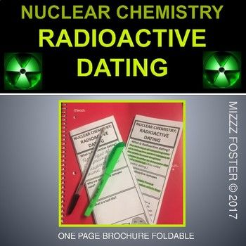 chemical workings of radioactive dating