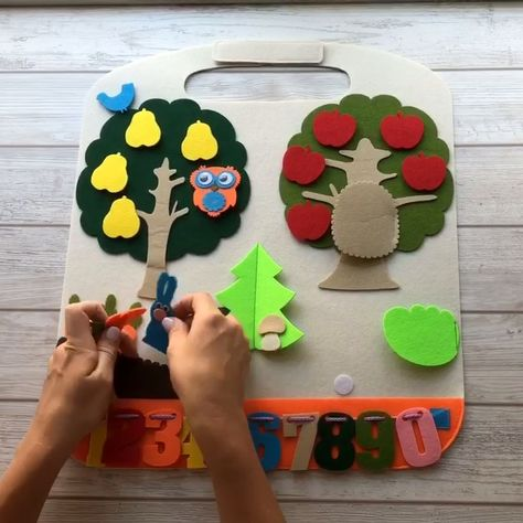 Handmade Playmat, Montessori toy, toddler activity game, baby gift idea, toy for car