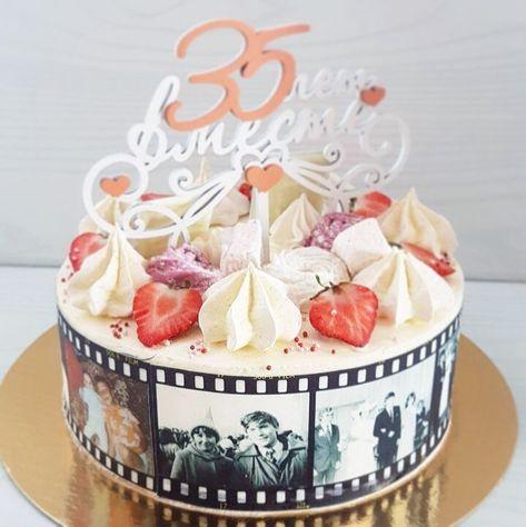 фото торт 35 лет