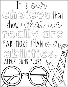 Harry Potter Coloring Sheets Harry Potter Coloring Pages Quote