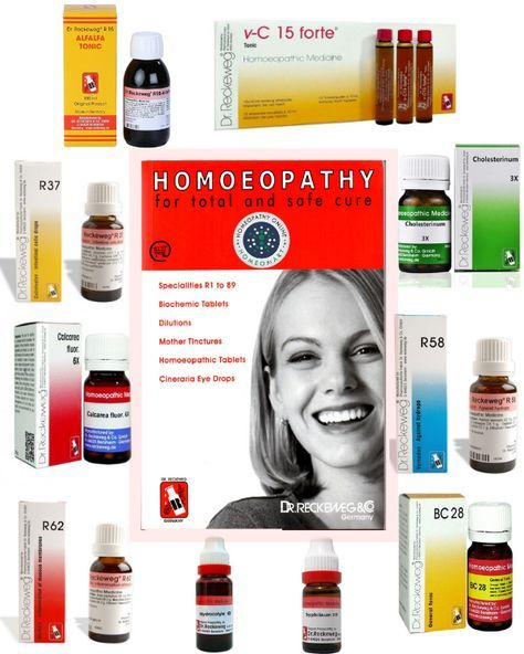 Get the complete range of Dr Reckeweg homeopathic medicines like