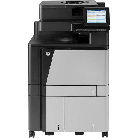 Hp Refurbished Color Laserjet Enterprise Flow Mfp M880z Wireless Color All In One Printer Black Silver Multifunction Printer Printer Best Printer Scanner