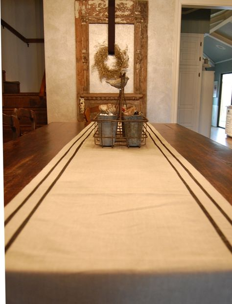 must make this french striped table runner!