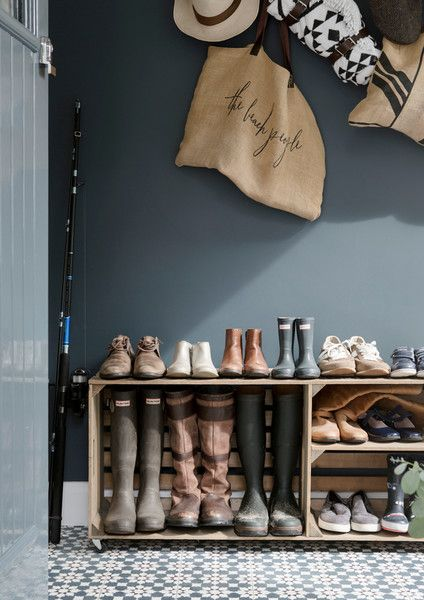A Magnificent Mudroom - A Creative Director's Dreamy Modern Farmhouse - Photos