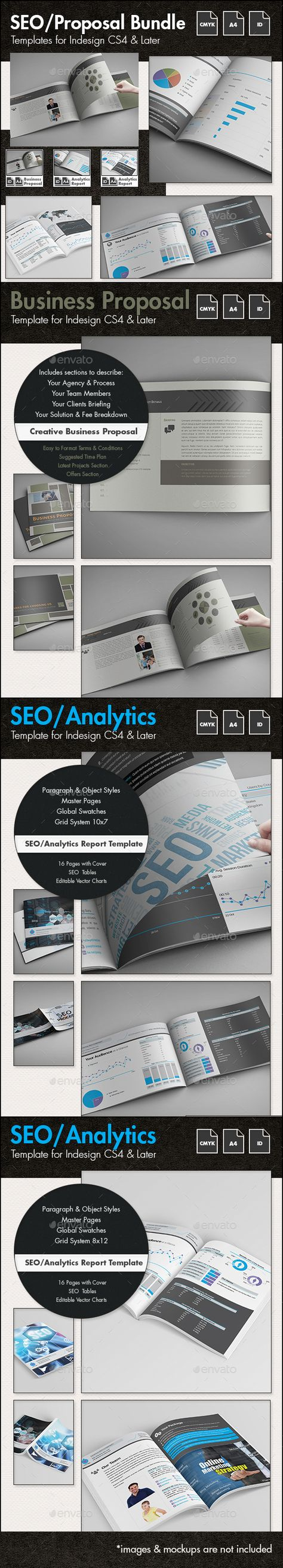 Seo Report  Proposal Template  A Landscape  Seo Report