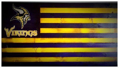 Minnesota Vikings Flag Minnesota Vikings Sign Minnesota