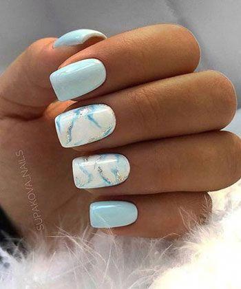 145 Hermosas Unas De Marmol Para Copiar En Este Momento Beautiful Copy Marble Nails 145 H Short Acrylic Nails Designs Short Acrylic Nails Nails For Kids